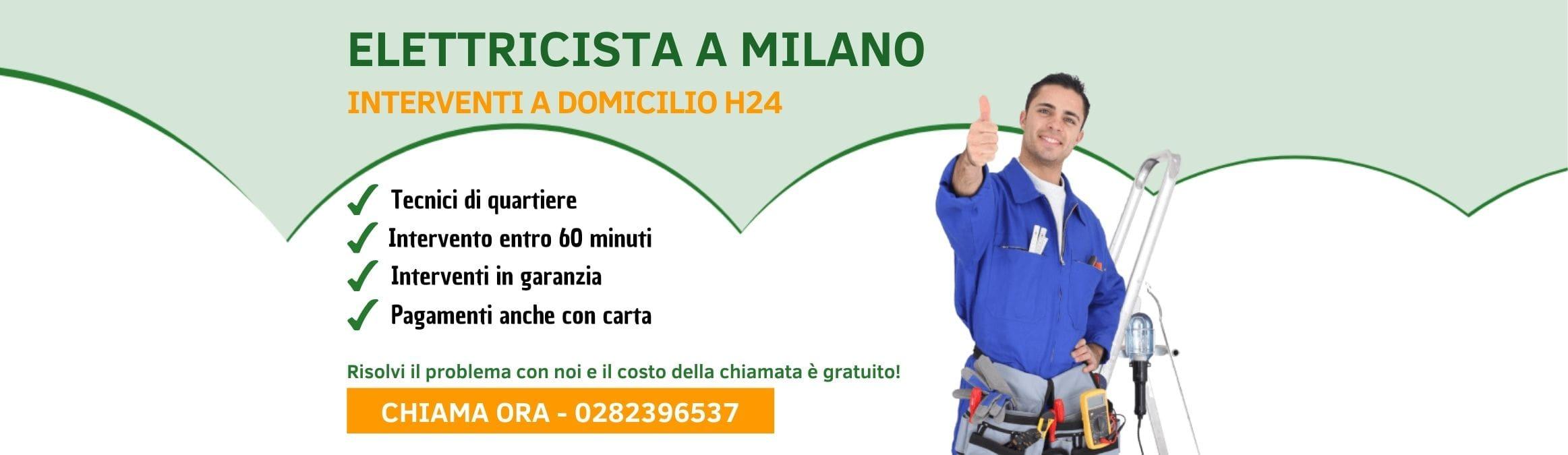 Elettricista Milano - pronto intervento h24